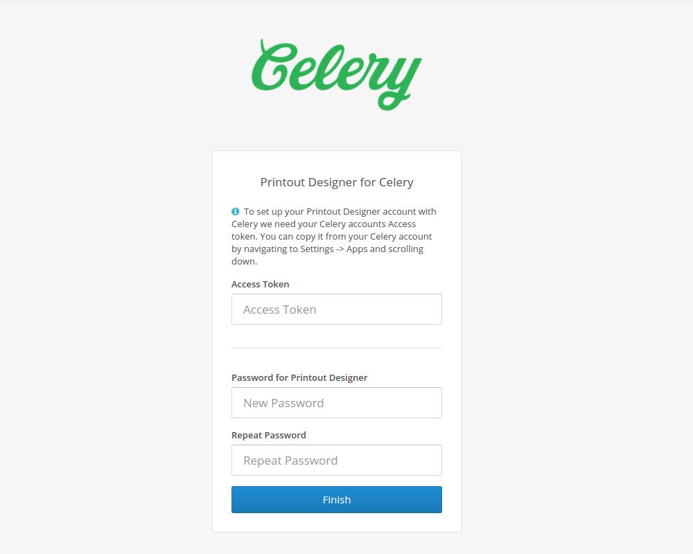 photograph regarding Printout Designer titled Celery + Printout Designer \u003d print tailor made invoices, packing